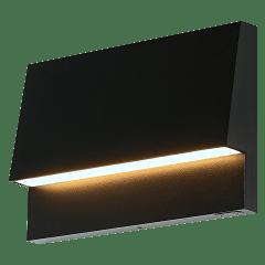 Krysen Outdoor Wall/Step Light Black 2700K/3000K Selectable 90 CRI 12V