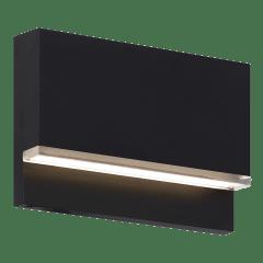 Wend Outdoor Wall/Step Light Black 2700K/3000K Selectable 90 CRI 12V