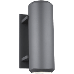 Aspenti 14 Outdoor Wall charcoal 3000K 90 CRI integrated led 90 cri 3000k 120v (t24)