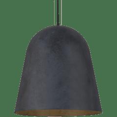 Fett Pendant weathered zinc no lamp