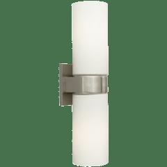 Hudson Wall White Satin Nickel 2700K 90 CRI a19 led 90 cri 2700k 120v (t20/t24)