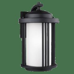 Crowell Medium One Light Outdoor Wall Lantern Black