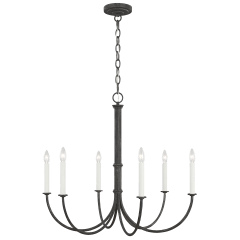 Champlain Medium Chandelier Iron Oxide