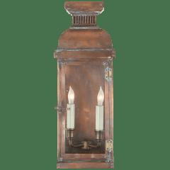 Suffork Medium 3/4 Lantern in Natural Copper