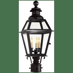 Chelsea Medium Post Lantern in Bronze