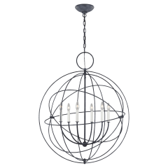 Bayberry Large Pendant Weathered Galvanized