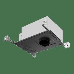 "3"" ENTRA Adjustable LED Housing Round Warm Dim 3000K-1800K 90 CRI IC Airtight"