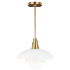 Rossie Pendant Burnished Brass