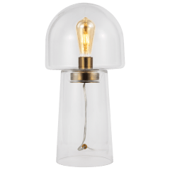 Enoki Table Lamp Clear Bulbs Inc