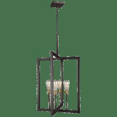 Finnegan Tall Lantern New World Bronze
