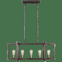 Finnegan Medium Linear Chandelier New World Bronze
