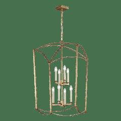 Thayer Extra Large Lantern Antique Gild