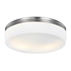 Issen Flush Mount Satin Nickel