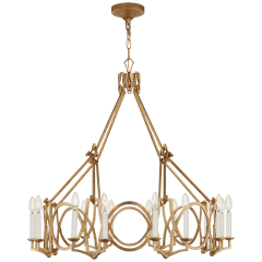 Brittany Chandelier in Venetian Gold