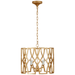 Brittany Small Lantern in Venetian Gold