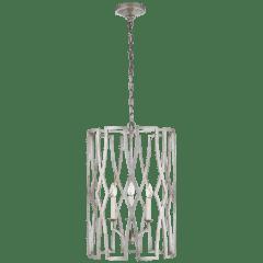 Brittany Medium Lantern in Venetian Silver