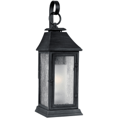 Shepherd Medium Lantern Dark Weathered Zinc