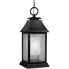 Shepherd Pendant Dark Weathered Zinc