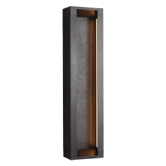 Mattix Medium LED Sconce Oil Rubbed Bronze Bulbs Inc