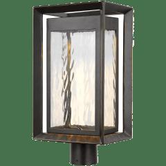 Urbandale LED Post Lantern Antique Bronze Bulbs Inc