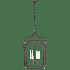Ancaster Medium Blacksmith Lantern in Aged Iron