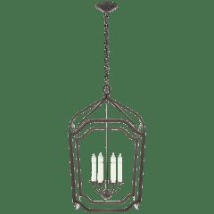 Ancaster Large Blacksmith Lantern in Aged Iron