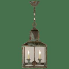 Brantley Lantern in Verdigris