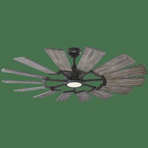 Prairie 52 LED - Aged Pewter