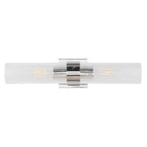 Geneva Linear Sconce Polished Nickel