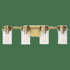 Garrett 4 - Light Vanity Burnished Brass