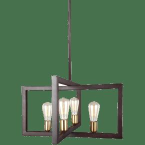 Finnegan Large Lantern New World Bronze