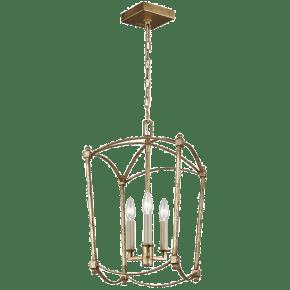 Thayer Mini-Lantern Antique Gild