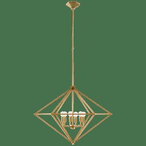 Afton Large Lantern in Gild