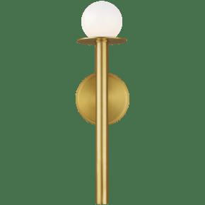 Nodes Sconce Burnished Brass