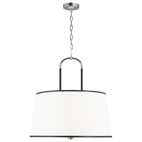 Katie Large Pendant Polished Nickel