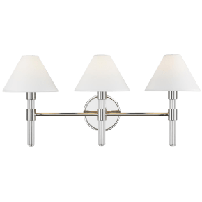 Robert 3 - Light Vanity Polished Nickel