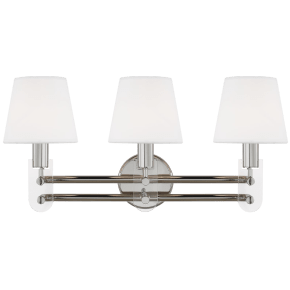 Jake 3 - Light Vanity Polished Nickel