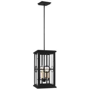 Belleville Pendant Textured Black