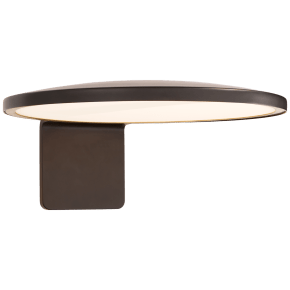 "Dot 13"" Wall Light in Matte Black"