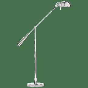 Equilibrium Floor Lamp in Polished Nickel