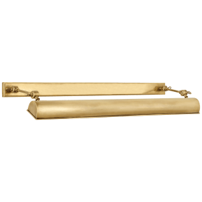 """Anette 24"""" Picture Light in Natural Brass"""