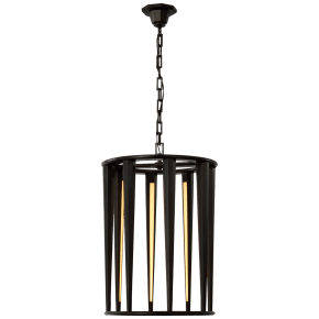 Galahad Medium Lantern in Bronze