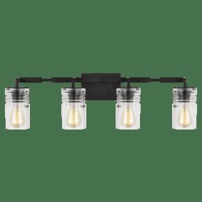 Ansley 4 - Light Vanity Aged Iron