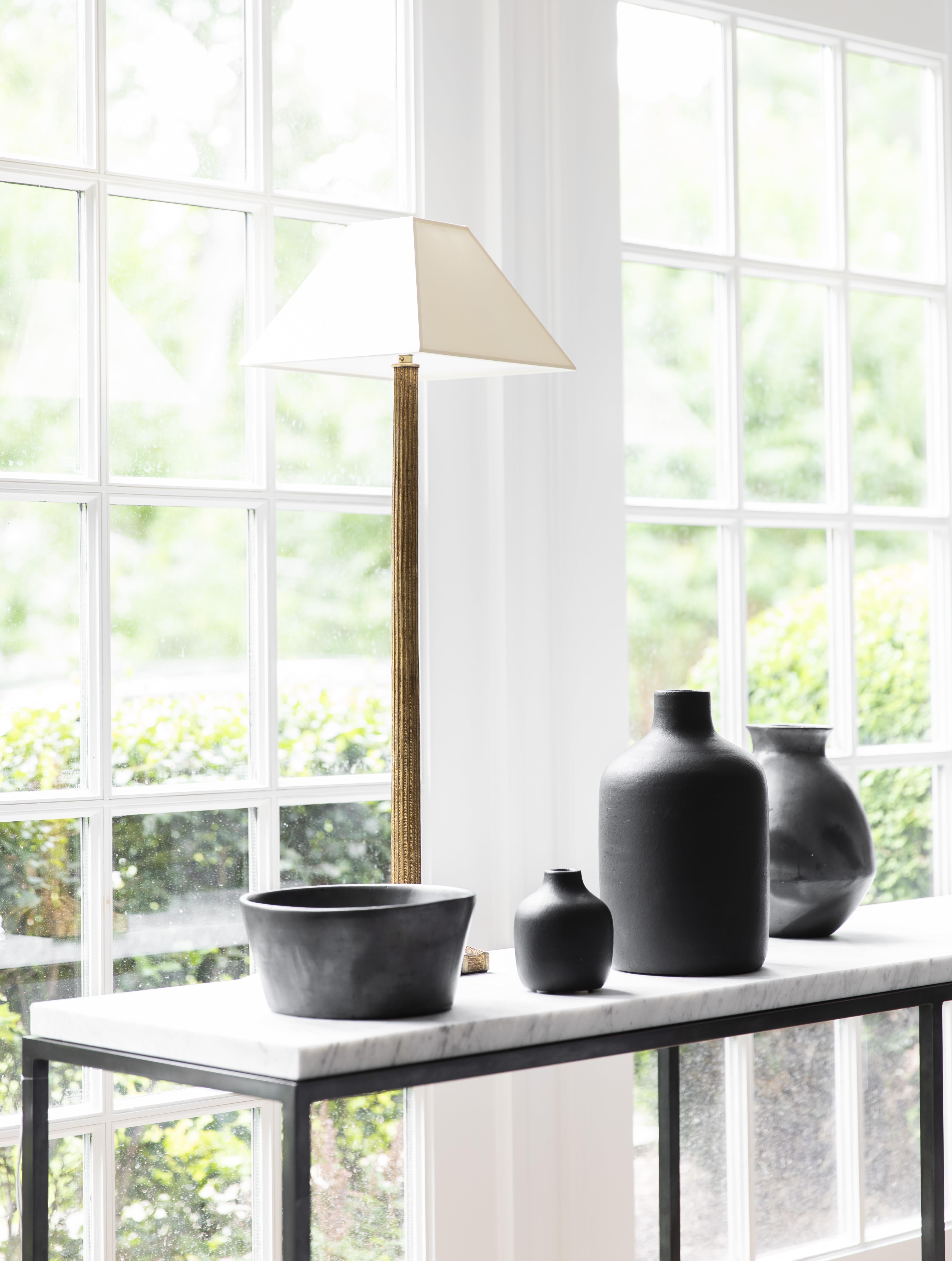 Strie Buffet Lamp by Chapman & Myers