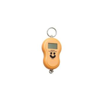 Balança Portátil Digital para malas e bagagens - 50 kg - amarelo