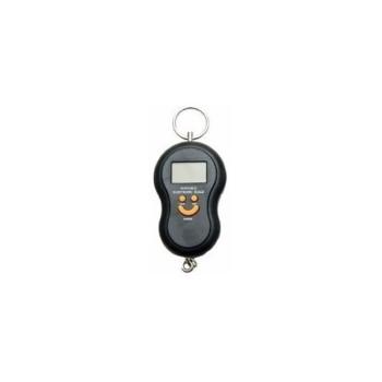 Balança Portátil Digital para malas e bagagens - 50 kg - preto