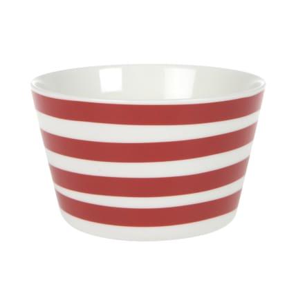 Koti Stripes Small Bowl red