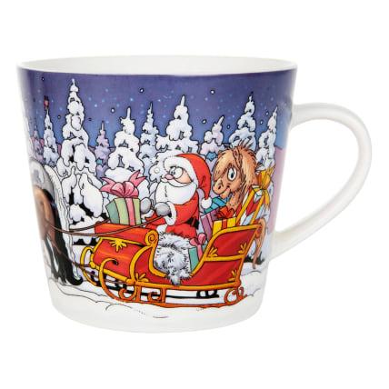 Lena Furberg Bandit's Christmas Sledge Mug