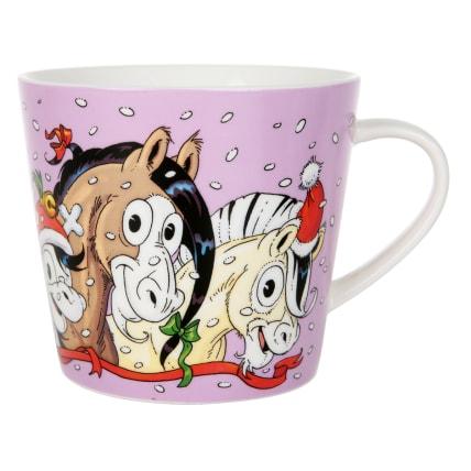 Lena Furberg Bandit's Jingle Bell Mug