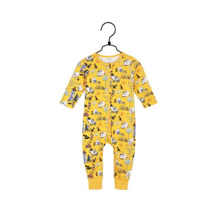 Muumi Retro-pyjama keltainen